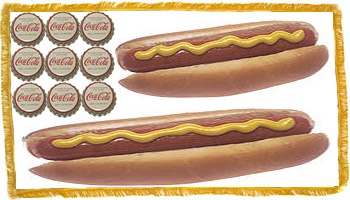 Hot Dog Flag