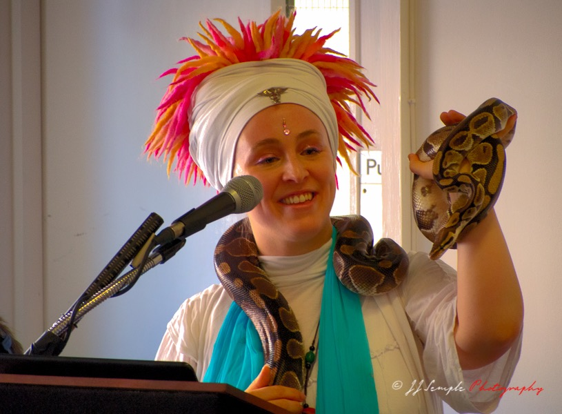 Playing With Kundalini - the snake
